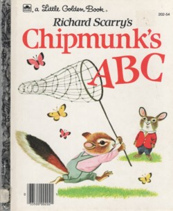 Կազմը Richard Scarry's Chipmunk's ABC