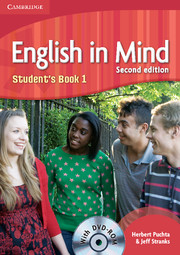 Կազմը English in Mind: Level 1: Student's Book