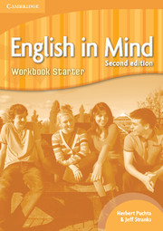Կազմը English in Mind: Starter: Workbook