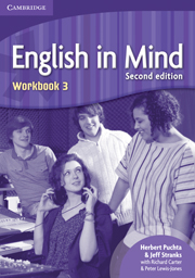 Կազմը English in Mind: Level 3: Workbook